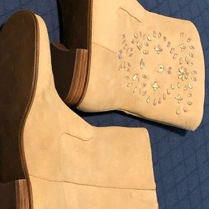Jack Rogers suede boots